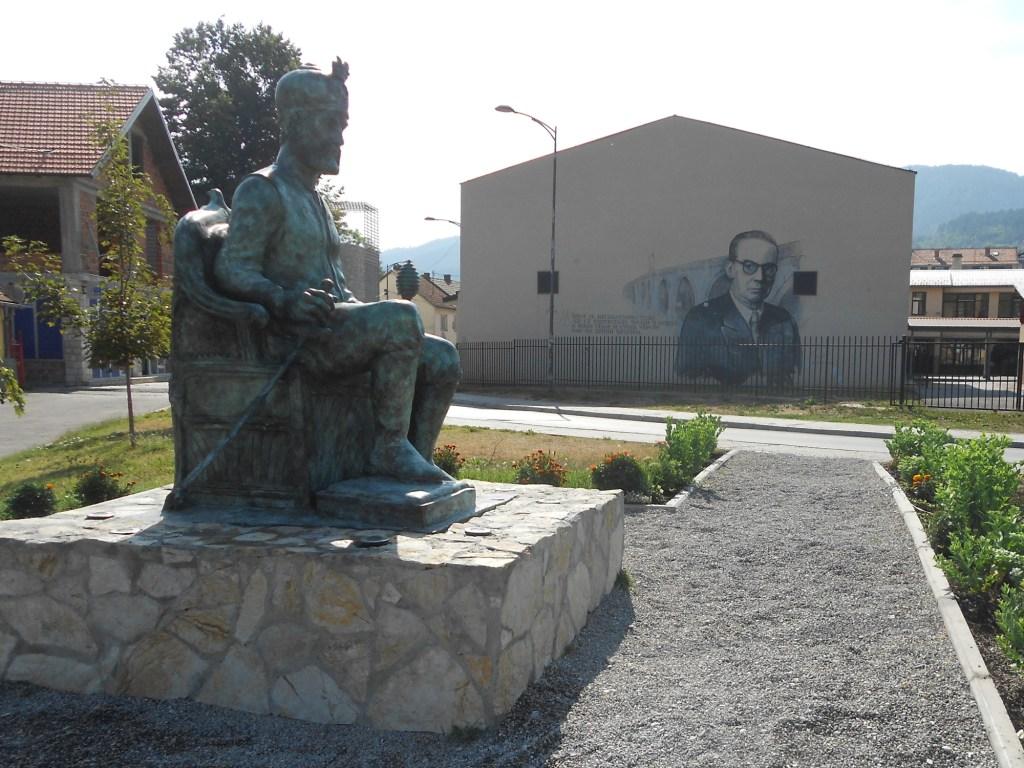 Мехмед-паша Соколович и Иво Андрич. Фото: Елена Арсениевич, CC BY-SA 3.0