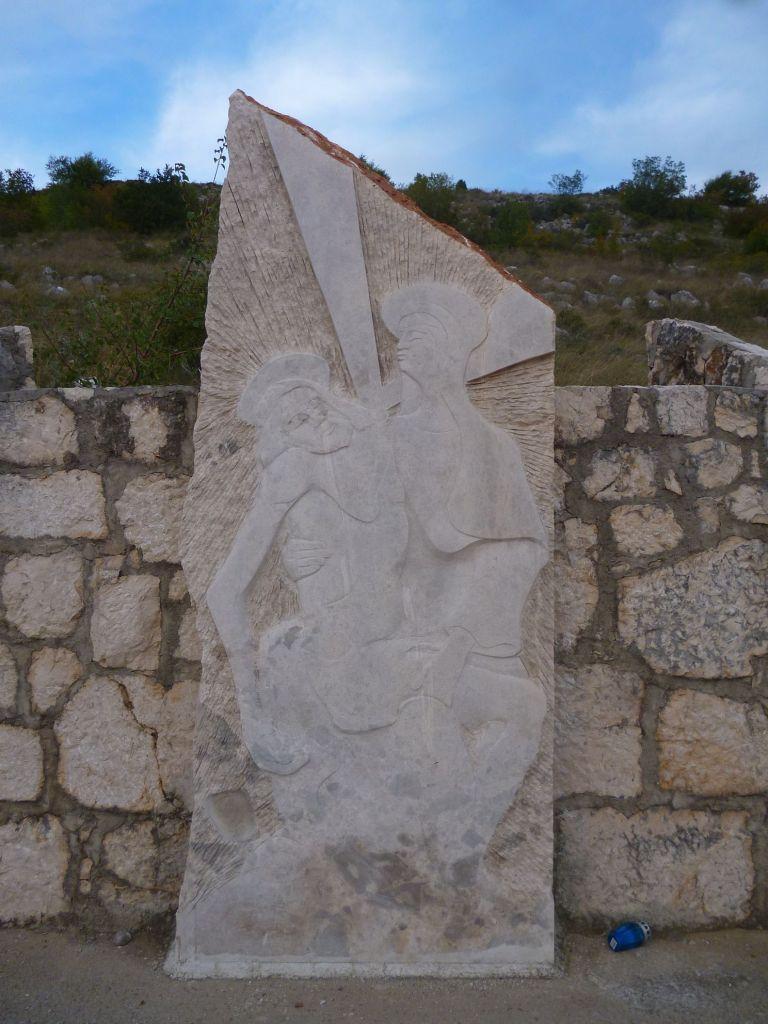 Стояние 13. Иисуса снимают с креста. Фрагмент. Фото: Елена Арсениевич, CC BY-SA 3.0