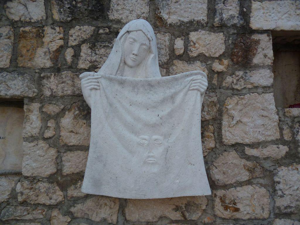 Стояние 6. Святая Вероника вытирает лицо Иисуса. Фото: Елена Арсениевич, CC BY-SA 3.0