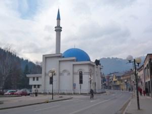 Мечеть с голубым куполом. Фото: Елена Арсениевич, CC BY-SA 3.0