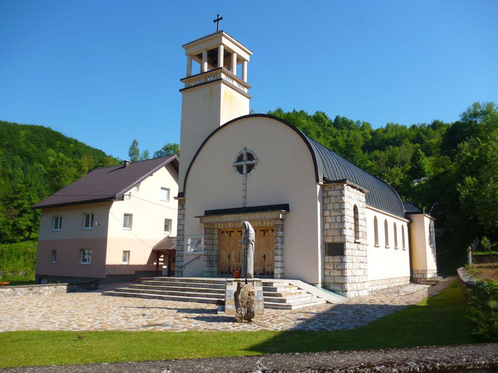 Церковь Девы Марии Снежной. Фото: Елена Арсениевич, CC BY-SA 3.0