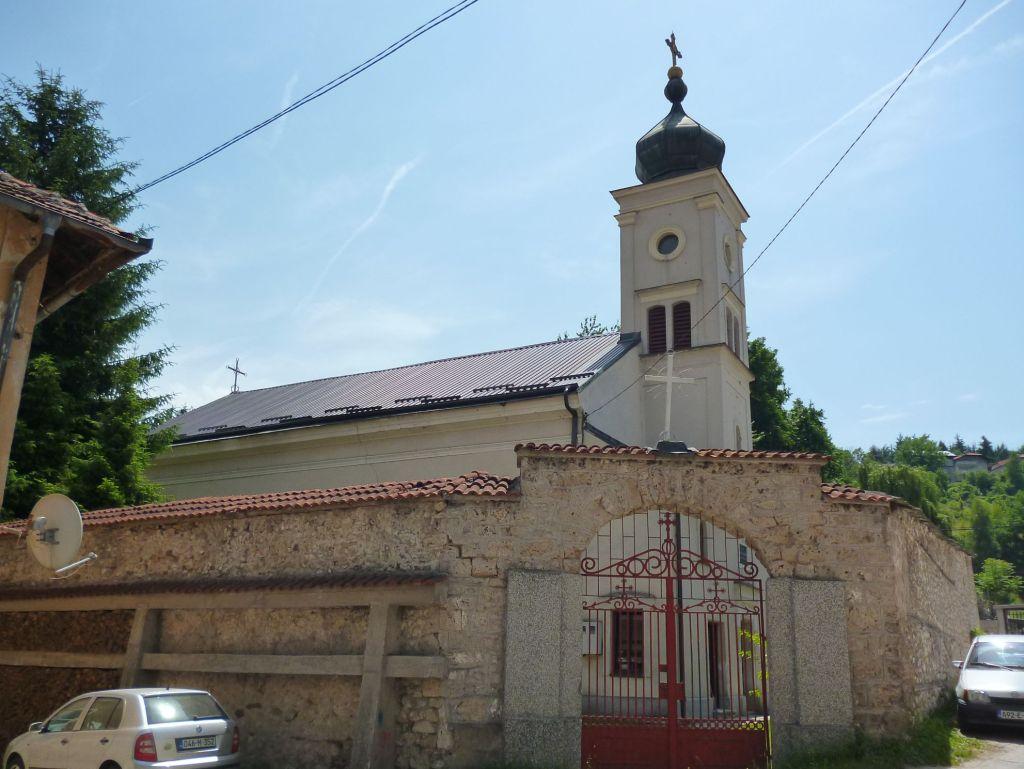 Церковь в Травнике. Фото: Елена Арсениевич, CC BY-SA 3.0