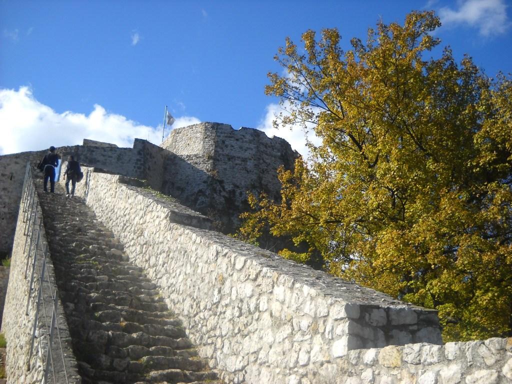 Лестница к бастиону. Фото: Елена Арсениевич, CC BY-SA 3.0