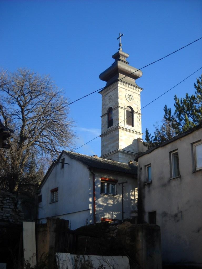 Колокольня православной церкви. Фото: Елена Арсениевич, CC BY-SA 3.0