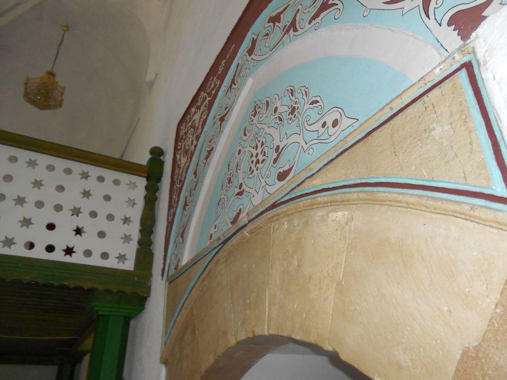 Интерьер мечети. Фрагмент. Фото: Елена Арсениевич, CC BY-SA 3.0