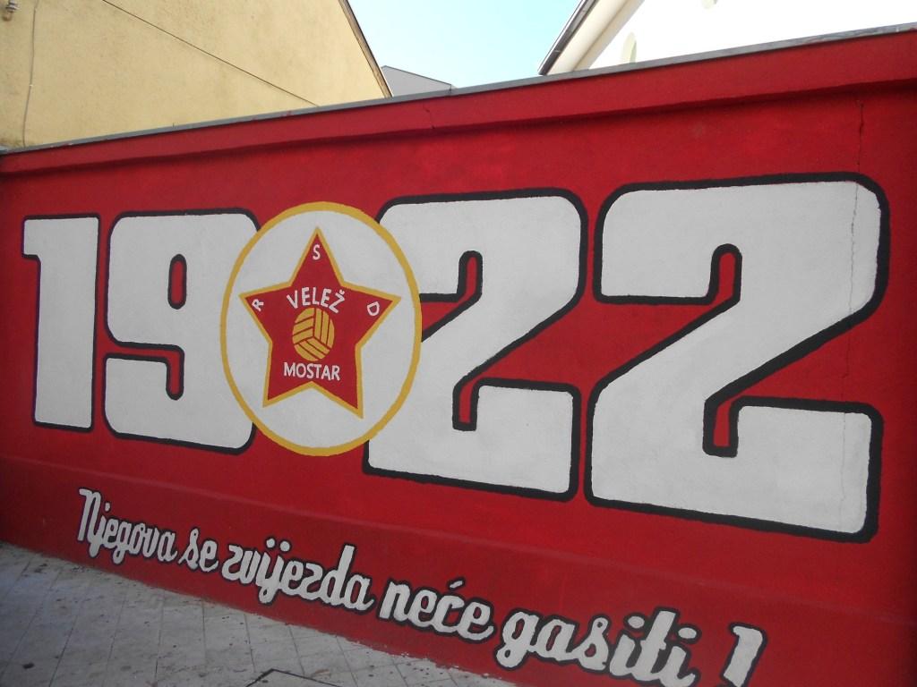 Граффити клуба футбольных фанатов. Фото: Елена Арсениевич, CC BY-SA 3.0