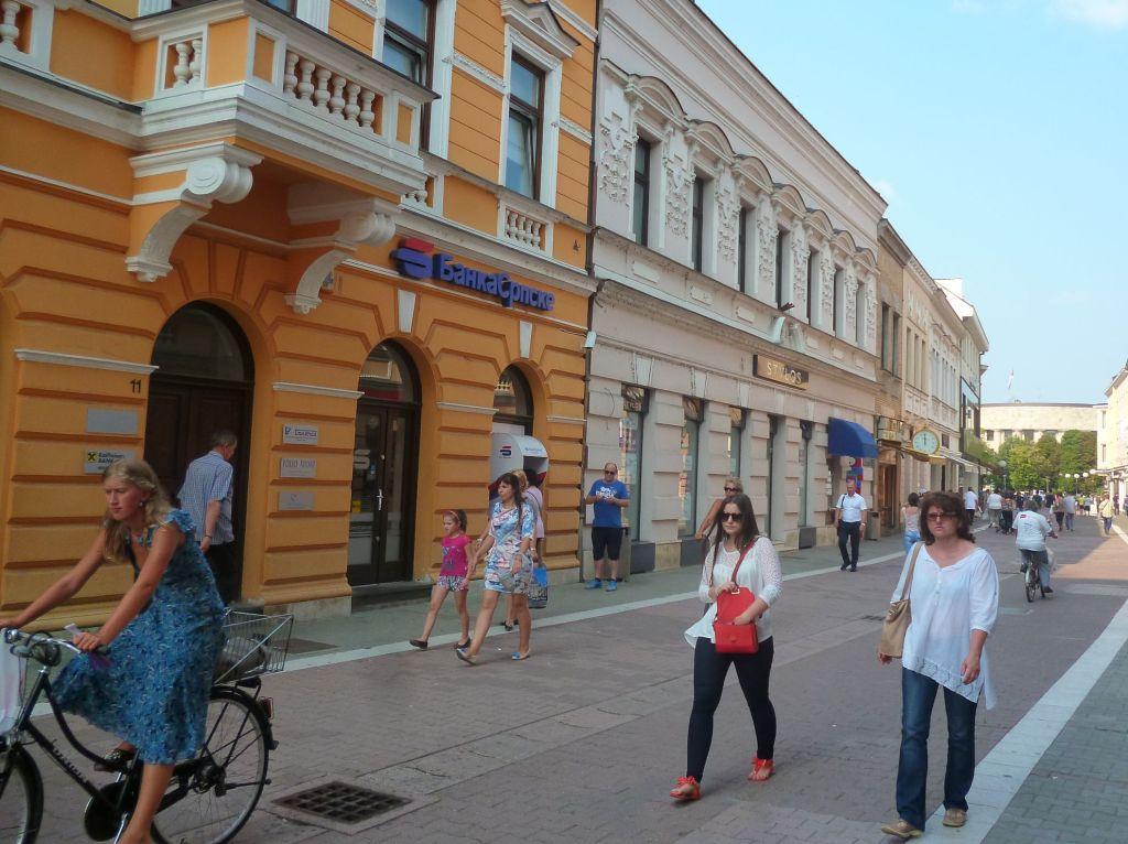 Господска улица в сторону площади Српских владара. Фото: Елена Арсениевич, CC BY-SA 3.0