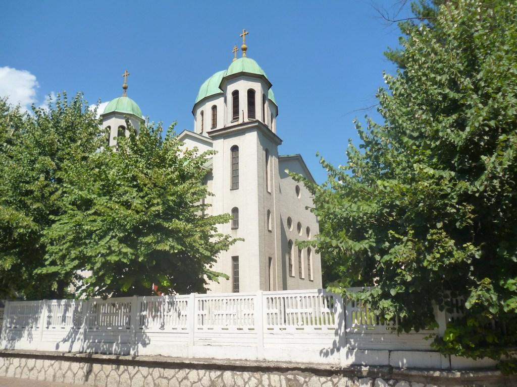 Церковь в Грачанице. Фото: Елена Арсениевич, CC BY-SA 3.0