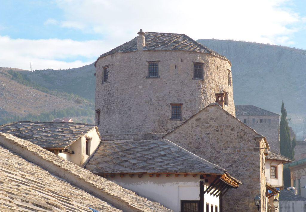 Башня Халебия, западная сторона. Фото: Елена Арсениевич, CC BY-SA 3.0