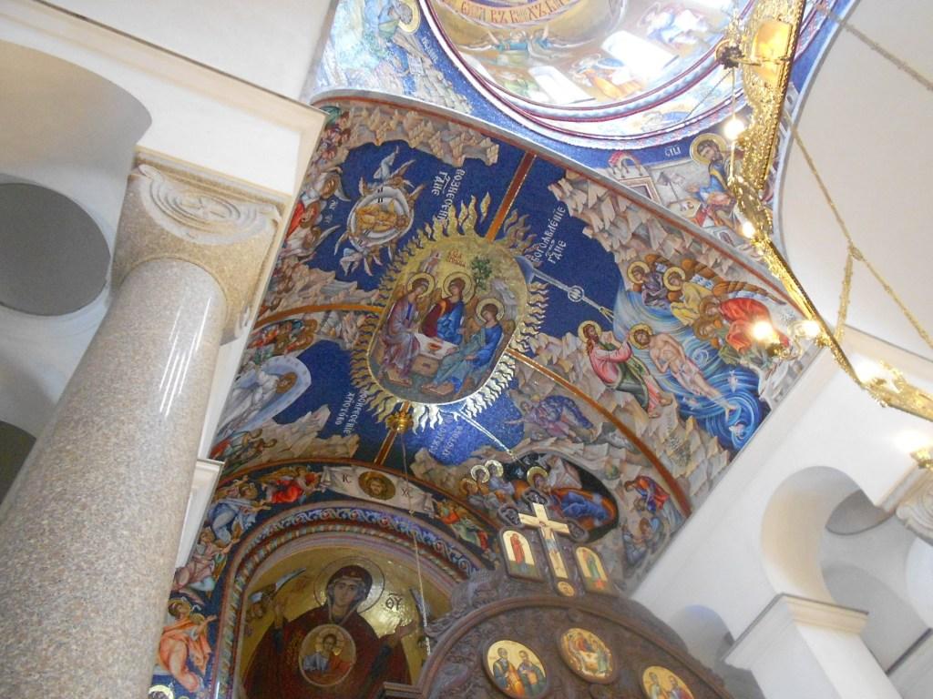 Мозаики в храме. Фото: Елена Арсениевич, CC BY-SA 3.0