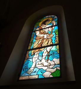 Витраж «Св. Иоанн Креститель». Фото: Елена Арсениевич, CC BY-SA 3.0