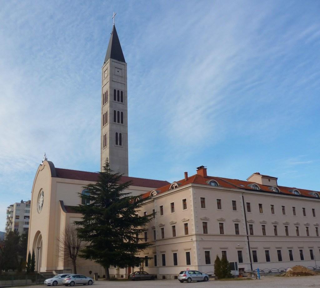 Церковь и монастырь св. Петра и Павла. Фото: Елена Арсениевич, CC BY-SA 3.0
