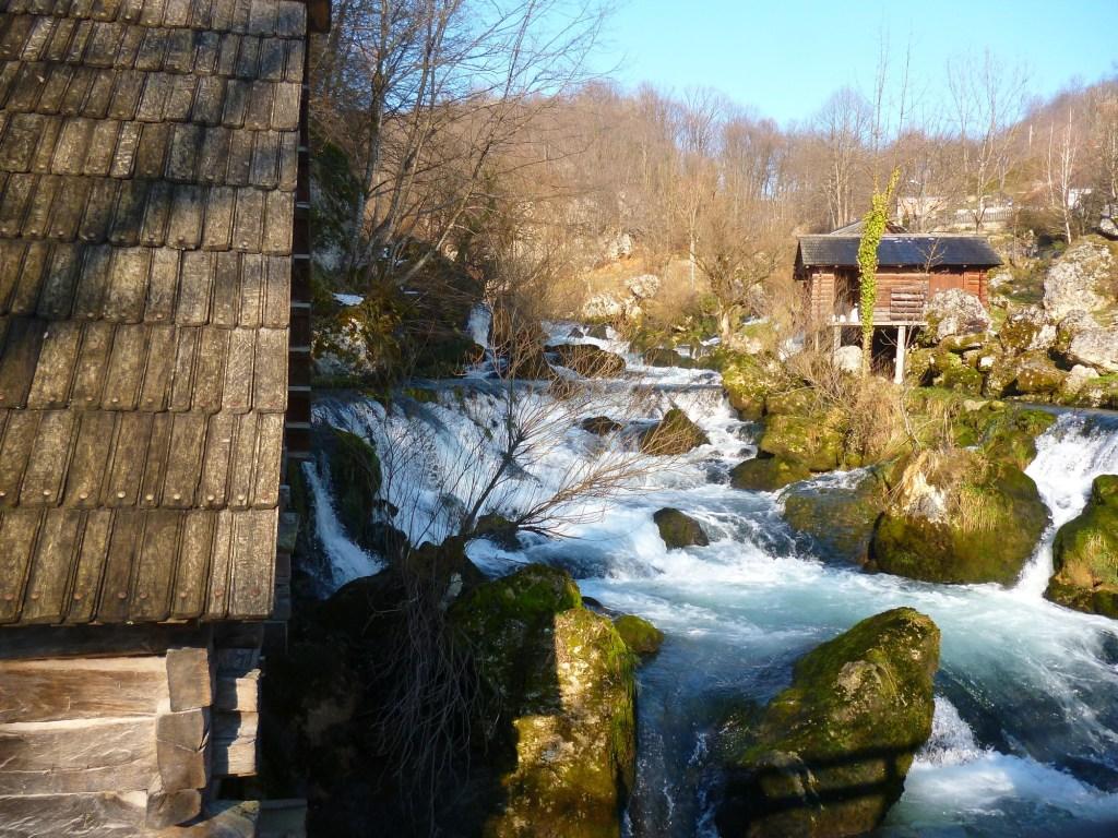 Мельницы на водопадах Крупы. Фото: Елена Арсениевич, CC BY-SA 3.0