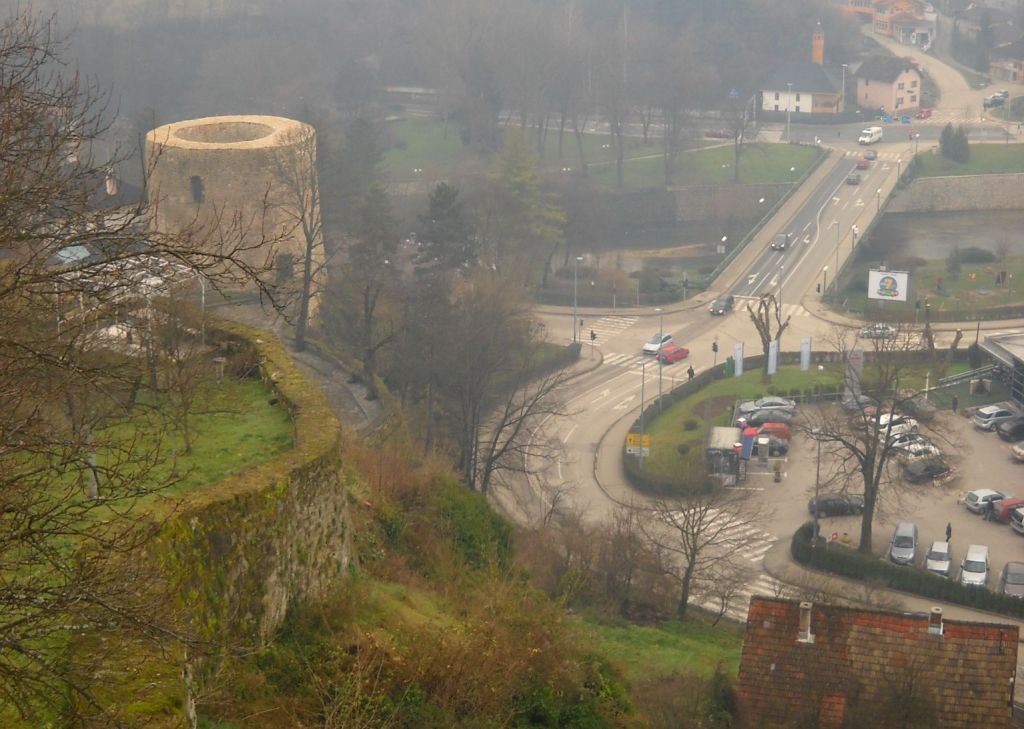 Башня Медведь над городом Яйце. Фото: Елена Арсениевич, CC BY-SA 3.0