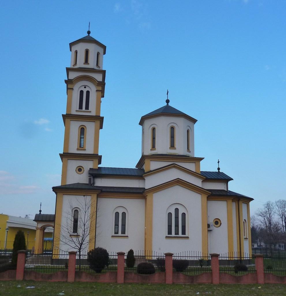 Храм святого великомученика князя Лазара в Баня Луке. Фото: Елена Арсениевич, CC BY-SA 3.0