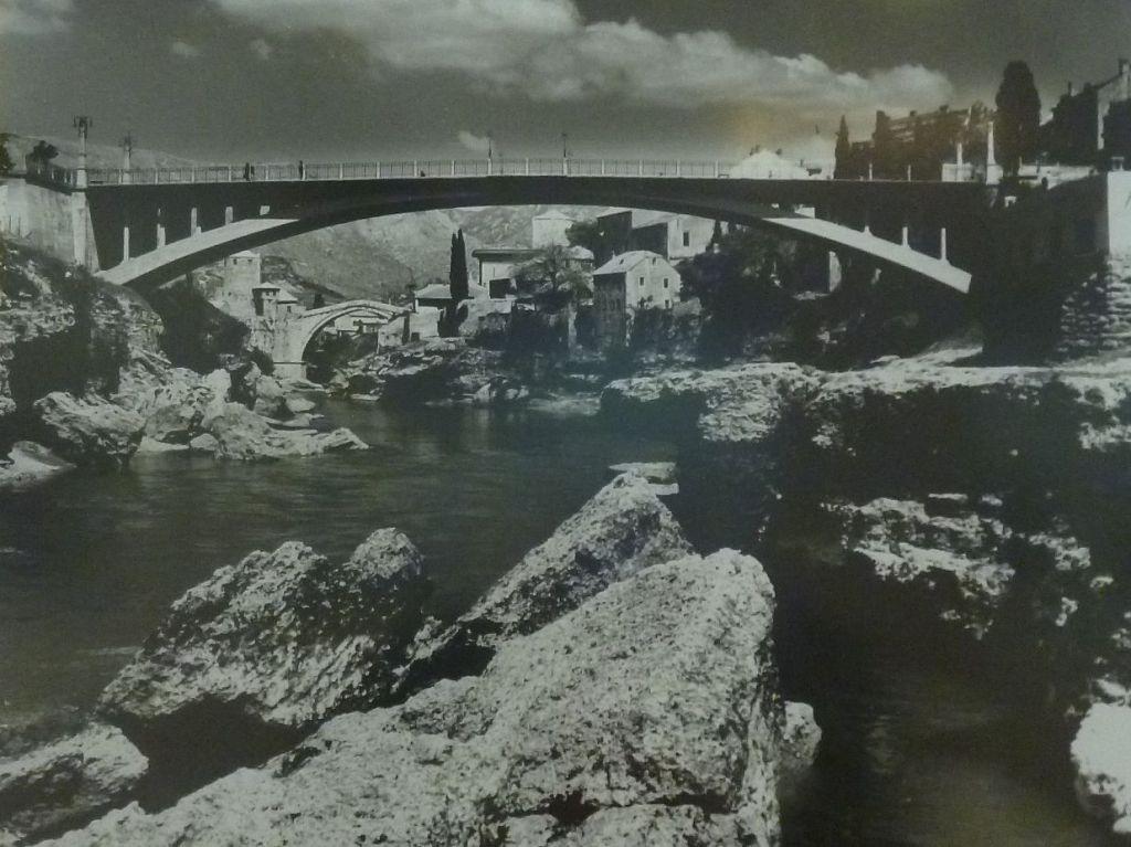 Лучский мост на старой фотографии. Автор фото неизвестен