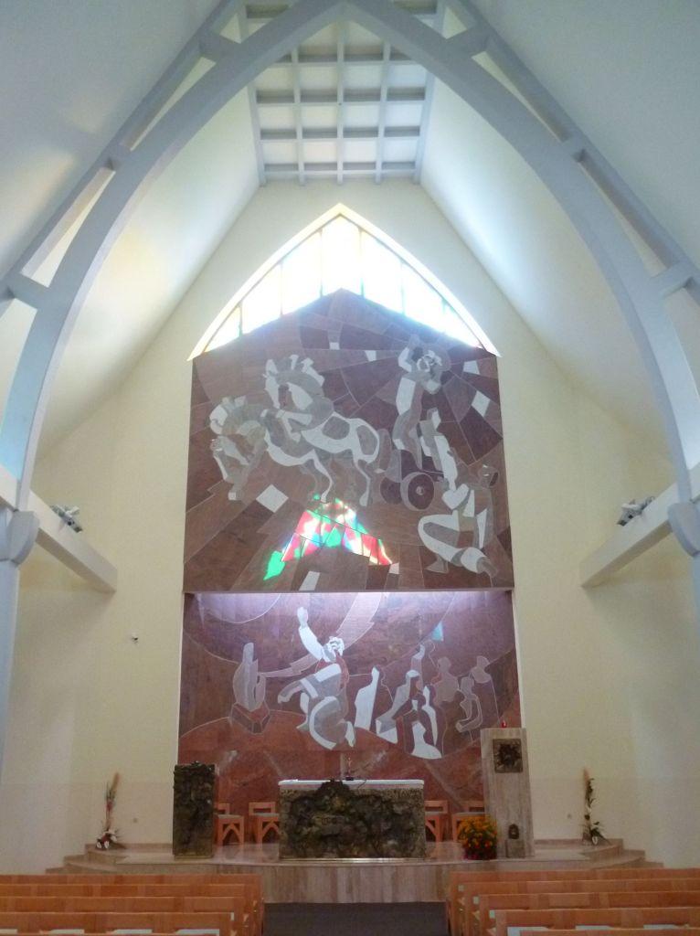 Интерьер церкви св. Илии-пророка. Фото: Елена Арсениевич, CC BY-SA 3.0