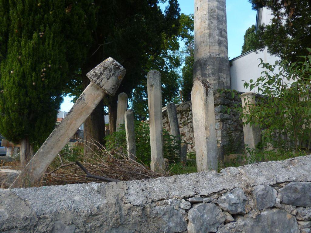 Нишаны – надгробные памятники. Фото: Елена Арсениевич, CC BY-SA 3.0