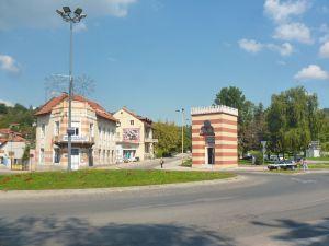 Вход в медресе Бехрам-бега. Фото: Елена Арсениевич, CC BY-SA 3.0