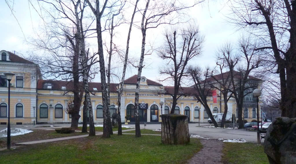 Музей современного искусства в Баня Луке и прилегающий парк. Фото: Елена Арсениевич, CC BY-SA 3.0