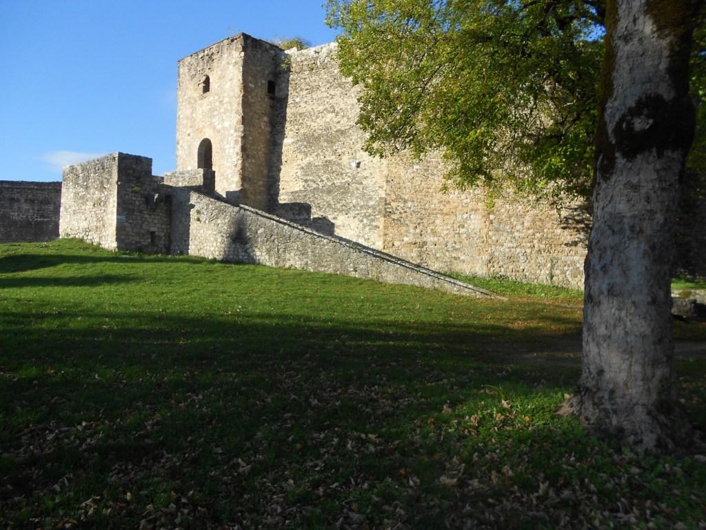 Северная часть крепости. Фото: Елена Арсениевич, CC BY-SA 3.0