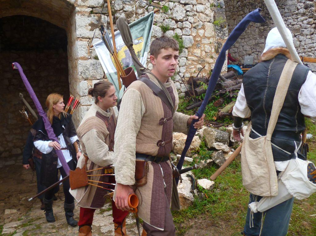 Вход рыцарей в крепость. Фото: Елена Арсениевич, CC BY-SA 3.0