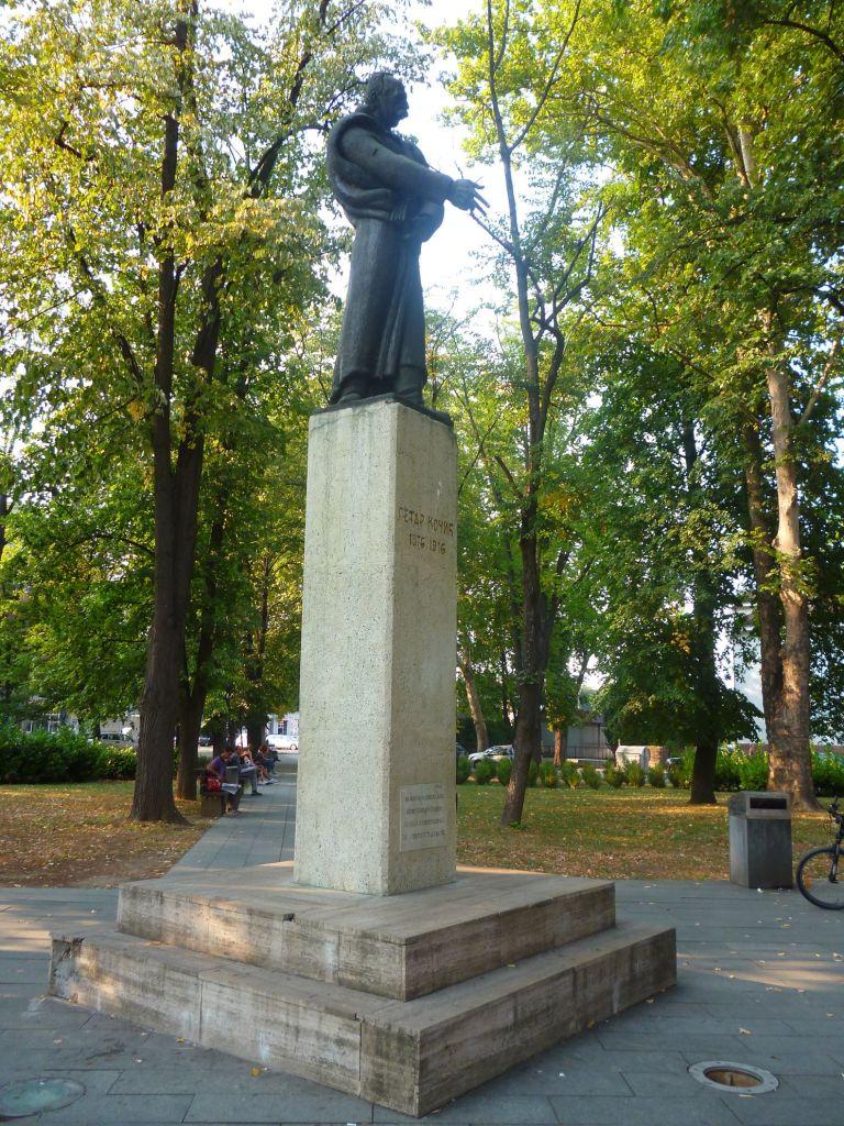 Памятник Петру Кочичу. Фото: Елена Арсениевич, CC BY-SA 3.0
