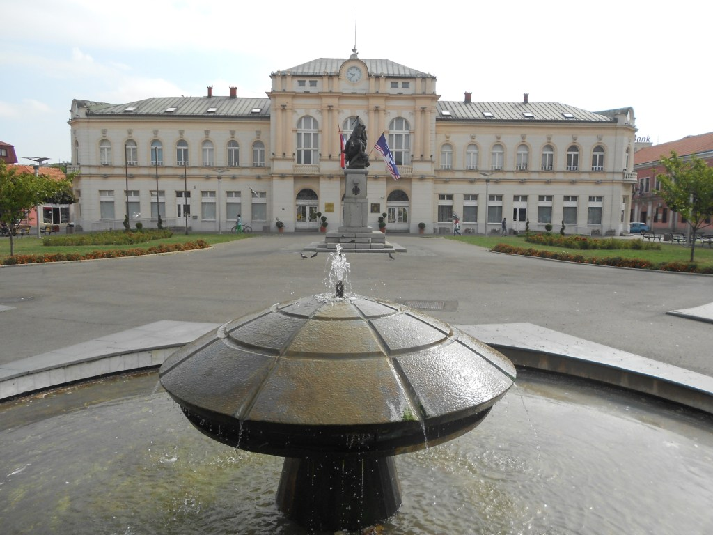Площадь перед мэрией. Фото: Елена Арсениевич, CC BY-SA 3.0