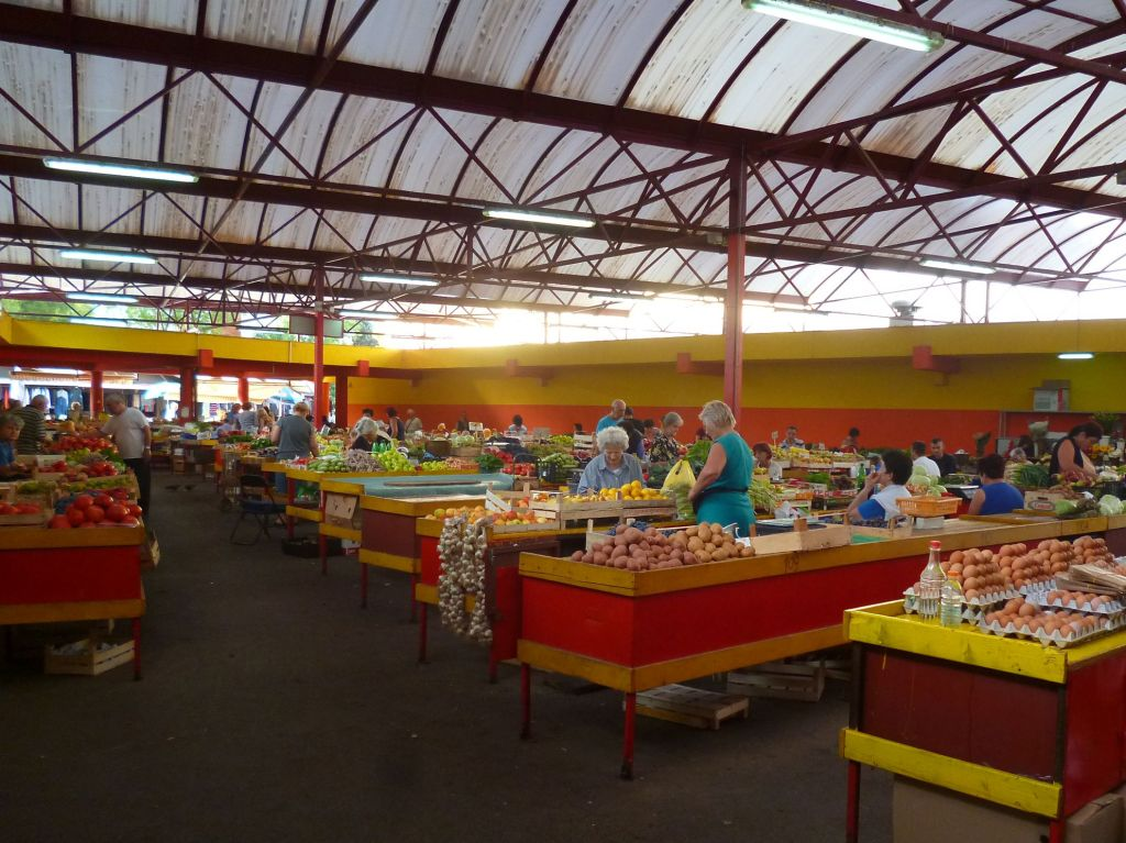 Городской рынок в Мостаре. Фото: Елена Арсениевич, CC BY-SA 3.0