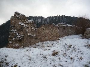 Остатки укреплений крепости Прусац. Фото: Елена Арсениевич, CC BY-SA 3.0