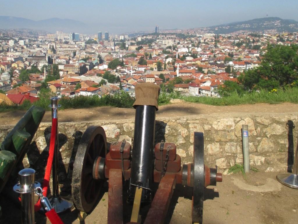 Пушка на Жёлтом бастионе в Сараево. Фото: Елена Арсениевич, CC BY-SA 3.0