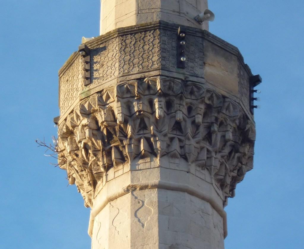 Декор минарета. Фото: Елена Арсениевич, CC BY-SA 3.0