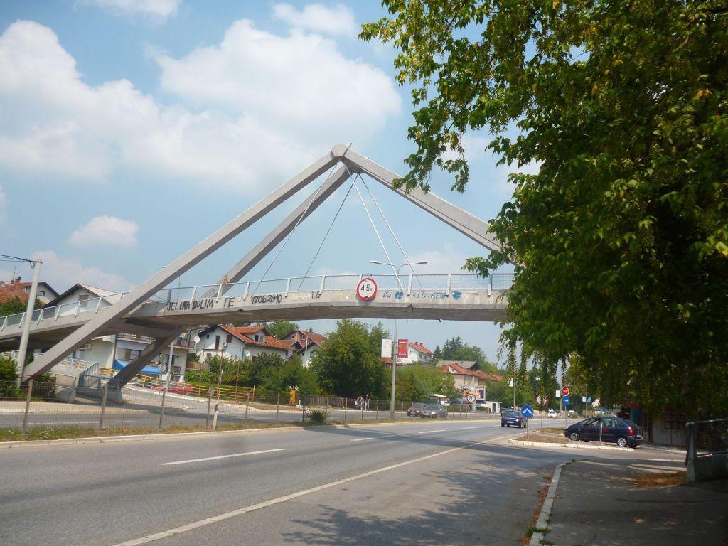 Мост между улицами Максима Горького и Иво Андрича. Фото: Елена Арсениевич, CC BY-SA 3.0