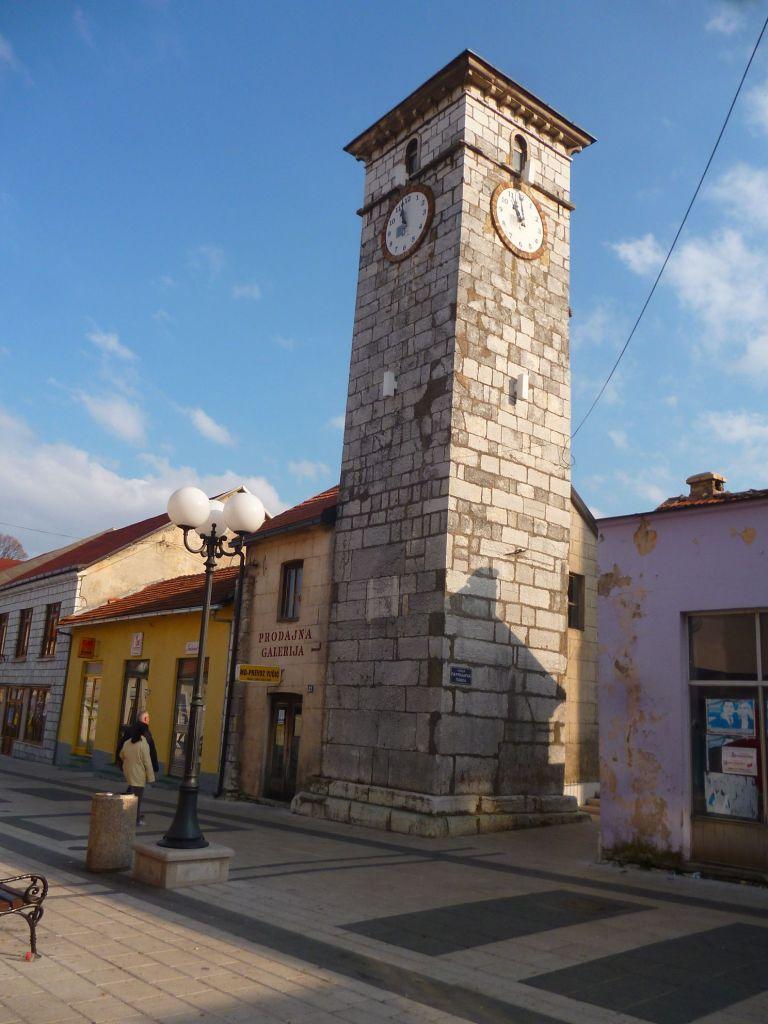Сахат-кула в центре Невесине. Фото: Елена Арсениевич, CC BY-SA 3.0