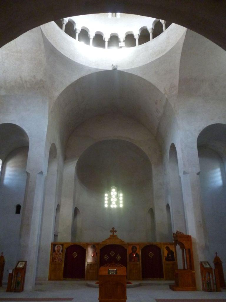 Церковь ещё не расписана. Фото: Елена Арсениевич, CC BY-SA 3.0