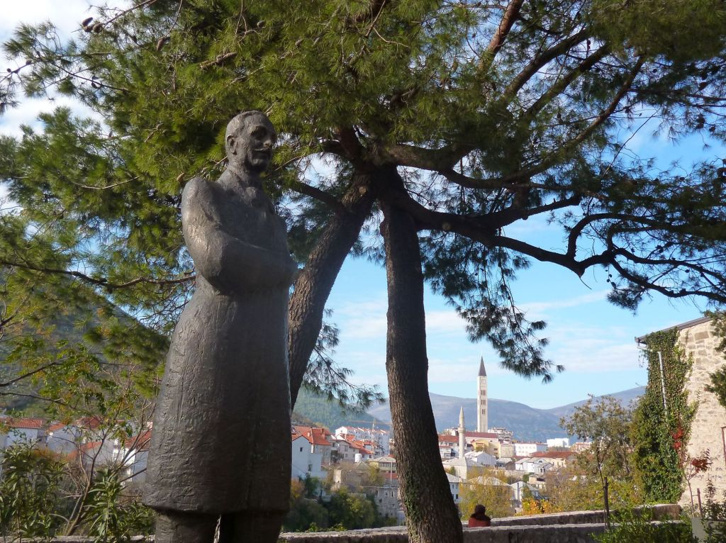 Алекса Шантич, мостарский поэт. Фото: Елена Арсениевич, CC BY-SA 3.0