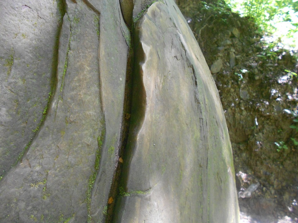 Трещина на камне. Фото: Елена Арсениевич, CC BY-SA 3.0