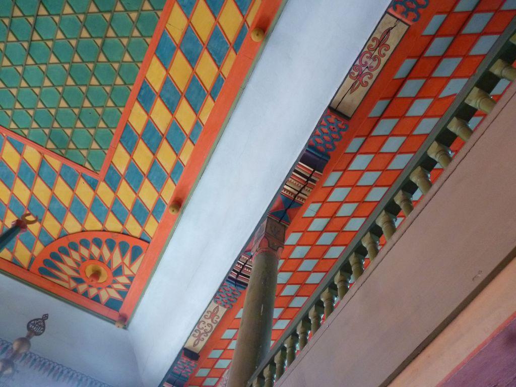 Потолок Шареной мечети. Фото: Елена Арсениевич, CC BY-SA 3.0