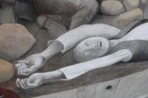 Фрагмент фрески «Невозможное». Фото: Елена Арсениевич, CC BY-SA 3.0
