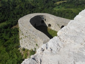 Стена крепости. Фото: Елена Арсениевич, CC BY-SA 3.0
