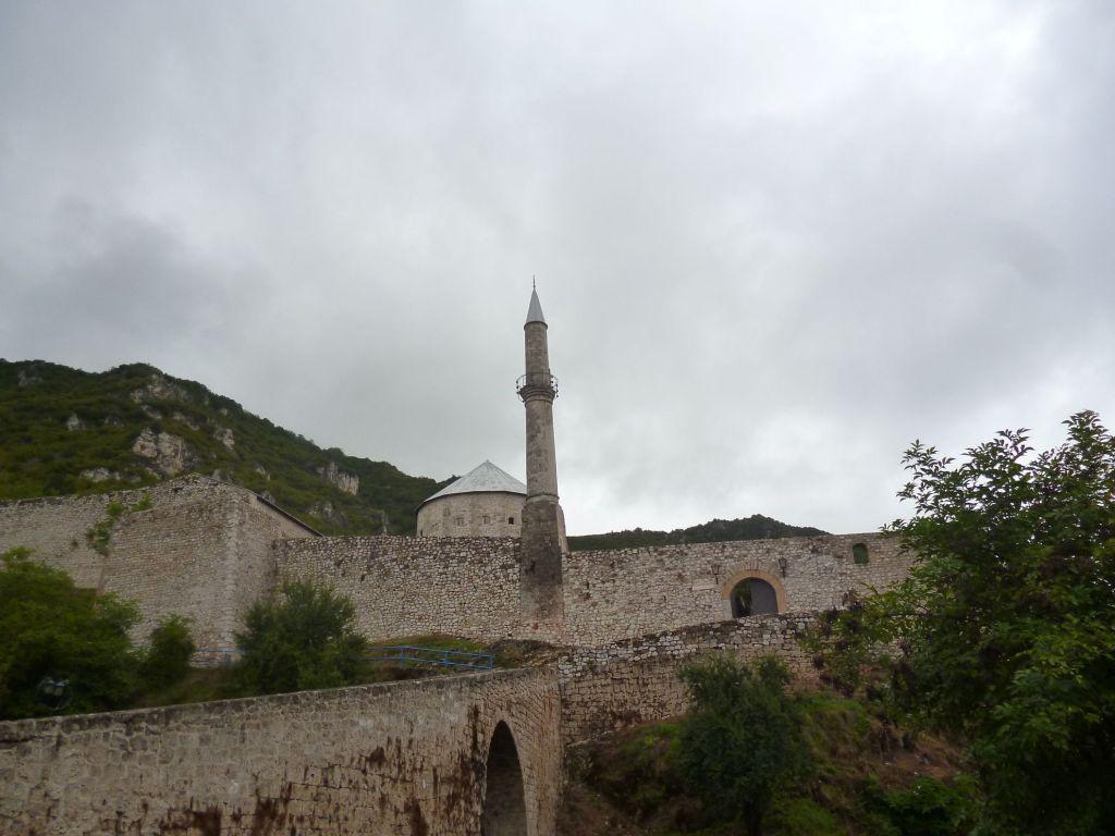 Западная сторона крепости. Фото: Елена Арсениевич, CC BY-SA 3.0