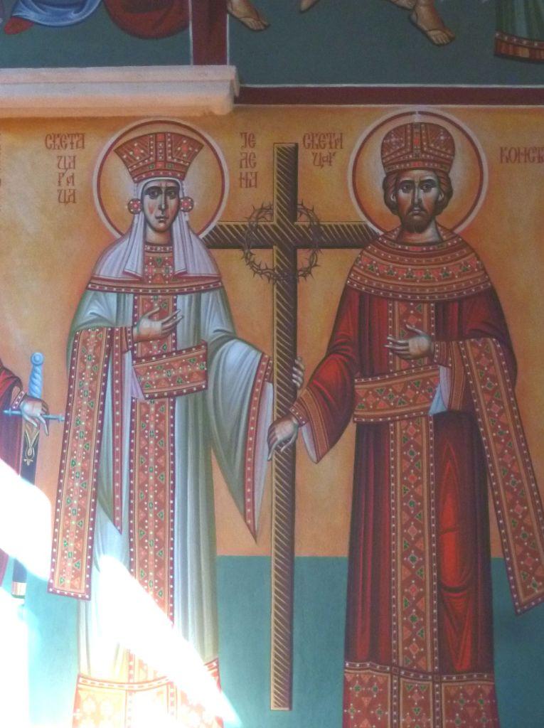 Св. Елена и св. Константин. Фото: Елена Арсениевич, CC BY-SA 3.0