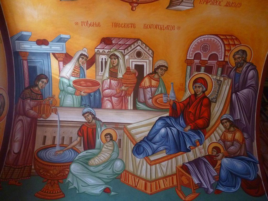 Фрагмент росписей церкви. Фото: Елена Арсениевич, CC BY-SA 3.0
