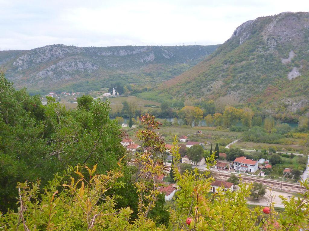Монастырь в долине Неретвы. Фото: Елена Арсениевич, CC BY-SA 3.0