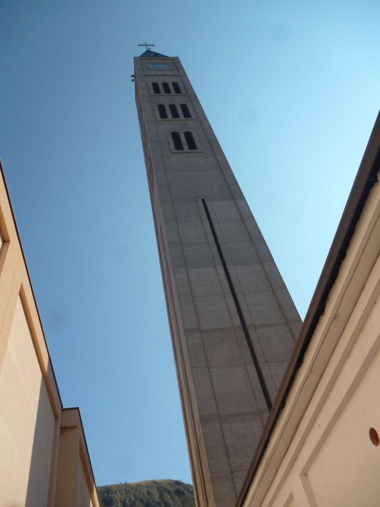 Самое высокое здание в Мостаре. Фото: Елена Арсениевич, CC BY-SA 3.0