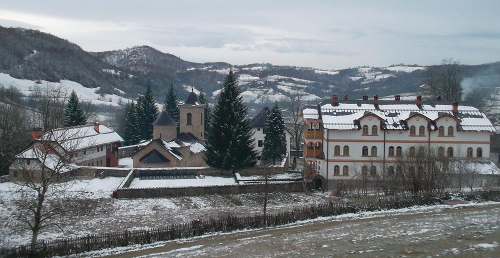 Монастырь Гомионица. Фото: Rade Nagraisalović, CC BY-SA 3.0.