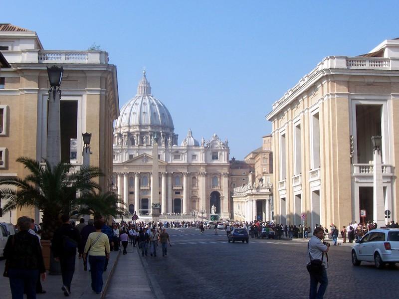 Собор св. Петра в Риме. Фото: MarkusMark, public domain