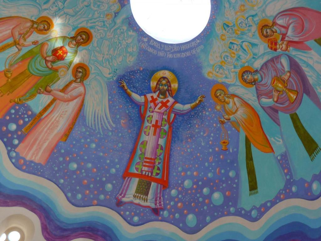 Фреска в церкви в Пребиловцах. Фото: Елена Арсениевич, CC BY-SA 3.0