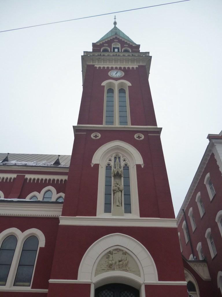 Колокольня церкви св. Анте. Фото: Елена Арсениевич, CC BY-SA 3.0