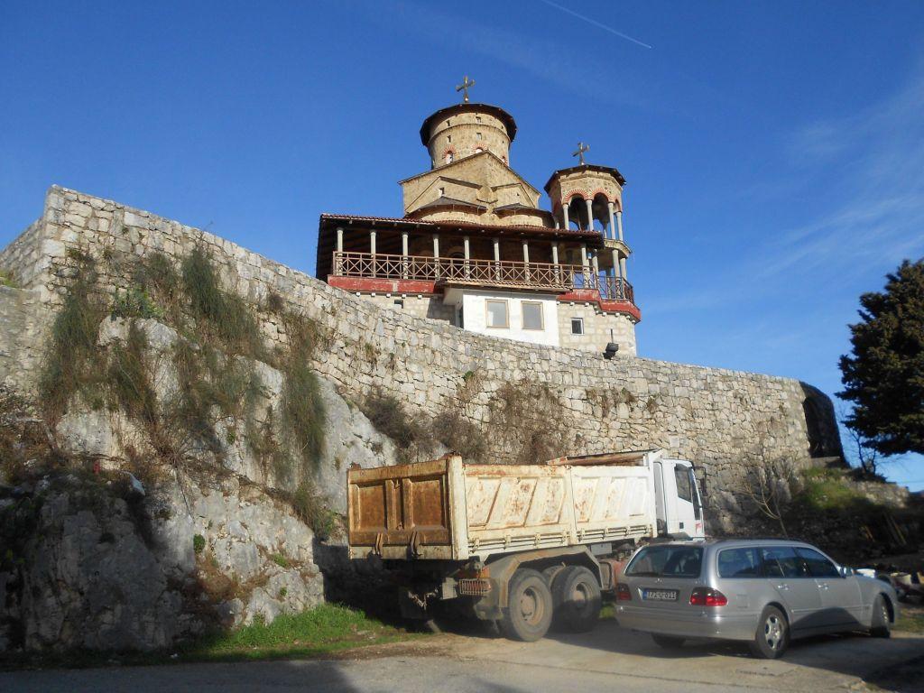 Церковь на австрийском форте. Фото: Елена Арсениевич, CC BY-SA 3.0